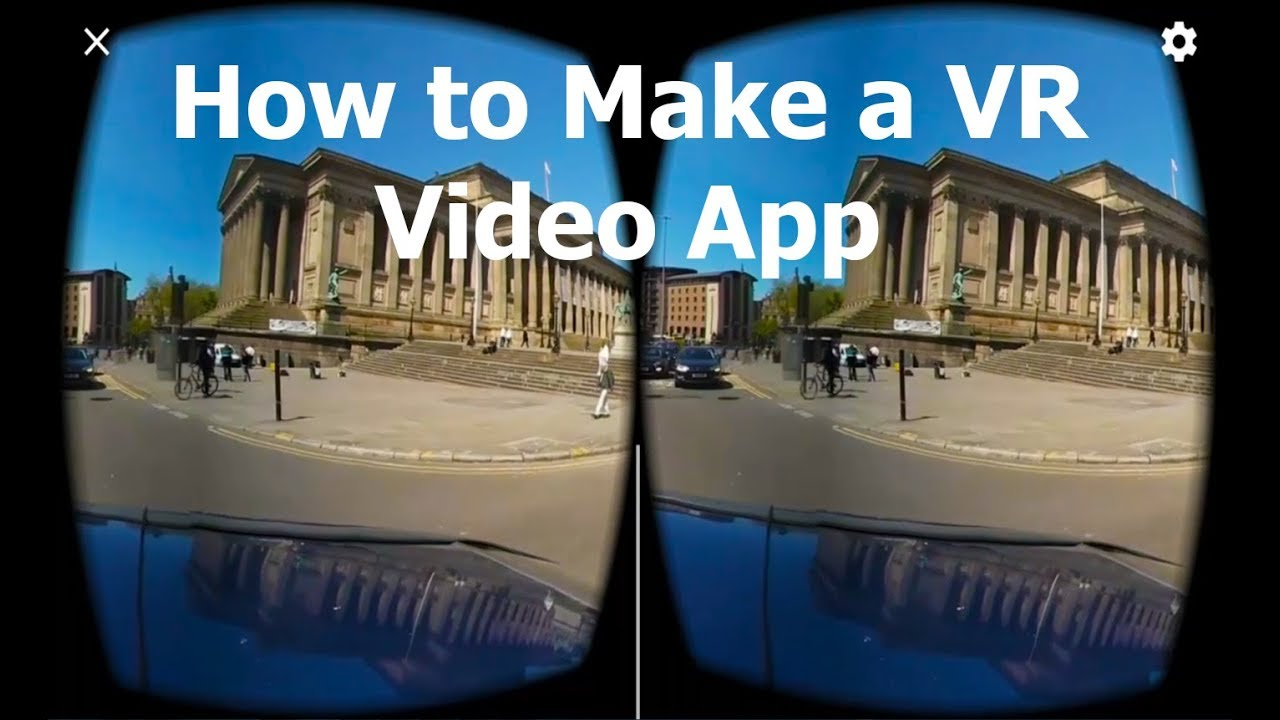 dca154700c54 How to make a VR 360 Video app within Unity for Android - YouTube