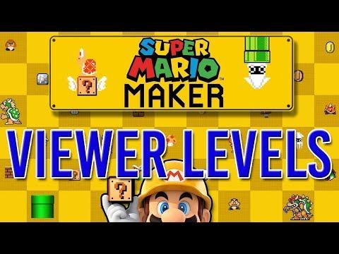 Super Mario Maker VIEWER Levels | SUPER MARIO ODYSSEY IN 1 WEEK!!!