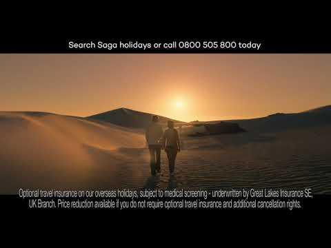 Saga Holidays TV advert