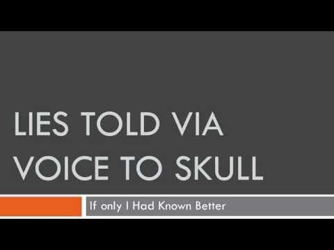 Lies Perps Told Me. Voice To Skull