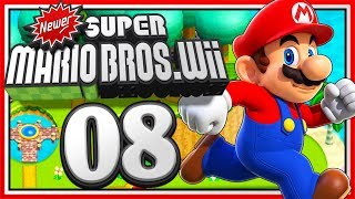 Ger 🔴 NEWER SUPER MARIO BROS. Wii • #08 (OnTopic wie ein Let's Play!) 🌟 Livestream #207