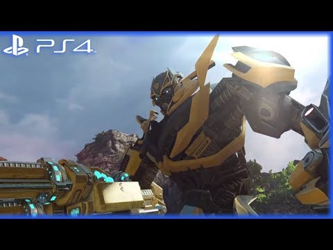 PS4 - Transformers: Rise of the Dark Spark | Reveal Gameplay Trailer