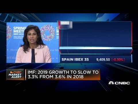 We project the global economy to recover by 2020 by 3.6 percent: IMF chief economist