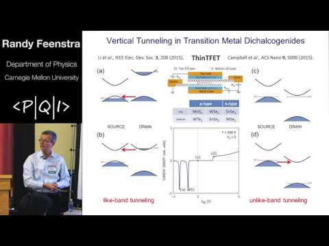 PQI2016 Randy Feenstra: Tunneling Devices based on TMD Materials