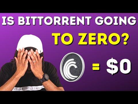 BitTorrent Crypto Coin Going To Zero?