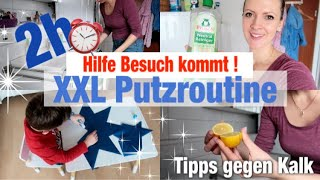 #PUTZROUTINE  PUTZ MARATHON !!!   HILFE BESUCH KOMMT !!! Putzroutine , Haushalt machen, Organisation