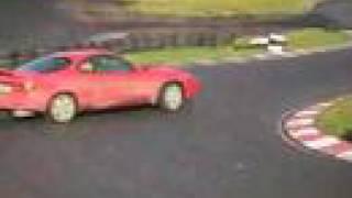 Toyota Celica GT4 track racing