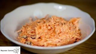 Салат с имбирем и морковью