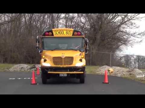 Cdl Class B Skills Offset Parking Left Youtube