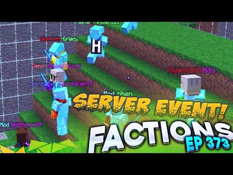 Minecraft Factions #373 - MASSIVE SERVER EVENT! (Minecraft Raiding)
