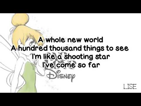 Yuna - A Whole New World (Lyrics)