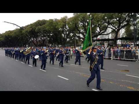 Argentina Bicentenario 2016 - Banda militar de España