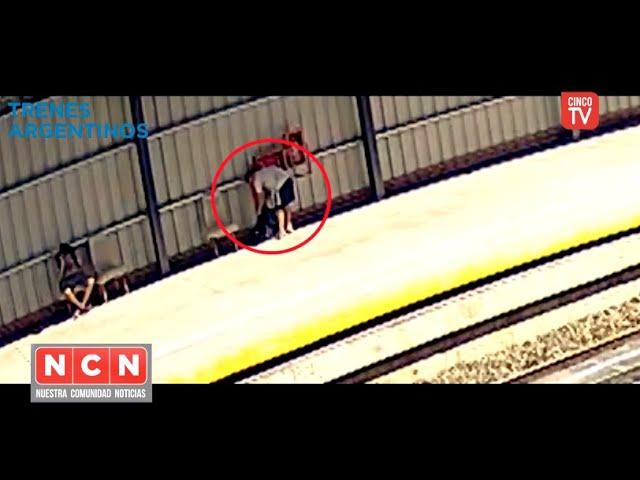 CINCO TV  - Pretendían llevarse la lanza hidrante, pero las cámaras los vieron primero