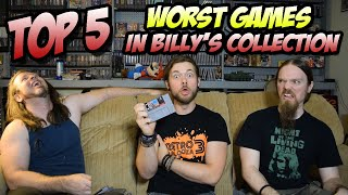 Top 5 WORST Games In Billy's Collection