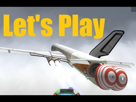 Let's Play KSP - ICBM Lauch from Plane finale? - Ep155