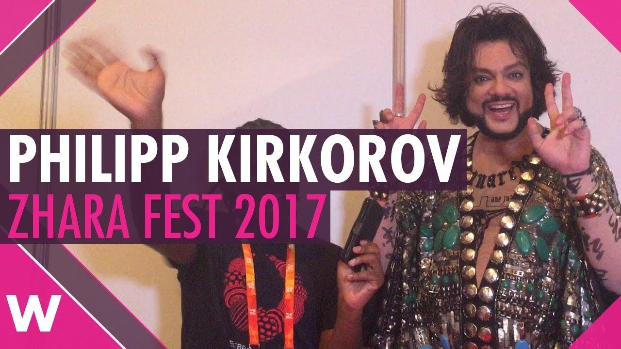 Philipp Kirkorov on Eurovision, Julia Samoylova and jury ...  Philipp Kirkoro...