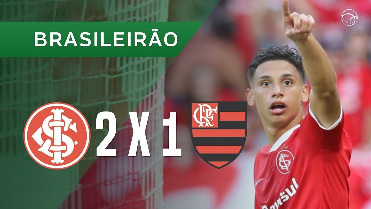 Internacional 2 X 1 Flamengo Gols 0105 Brasileirão 2019