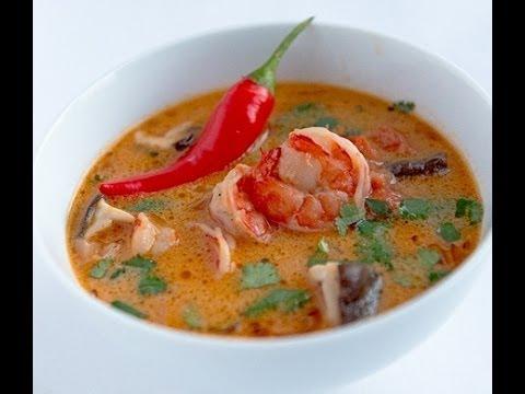 Суп тайский Том Ям рецепт, фото