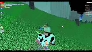 Roblox Egg Hunt 2013 - N/A Server - I'm riding a cow with a faberge egg cloner and an obc egg!