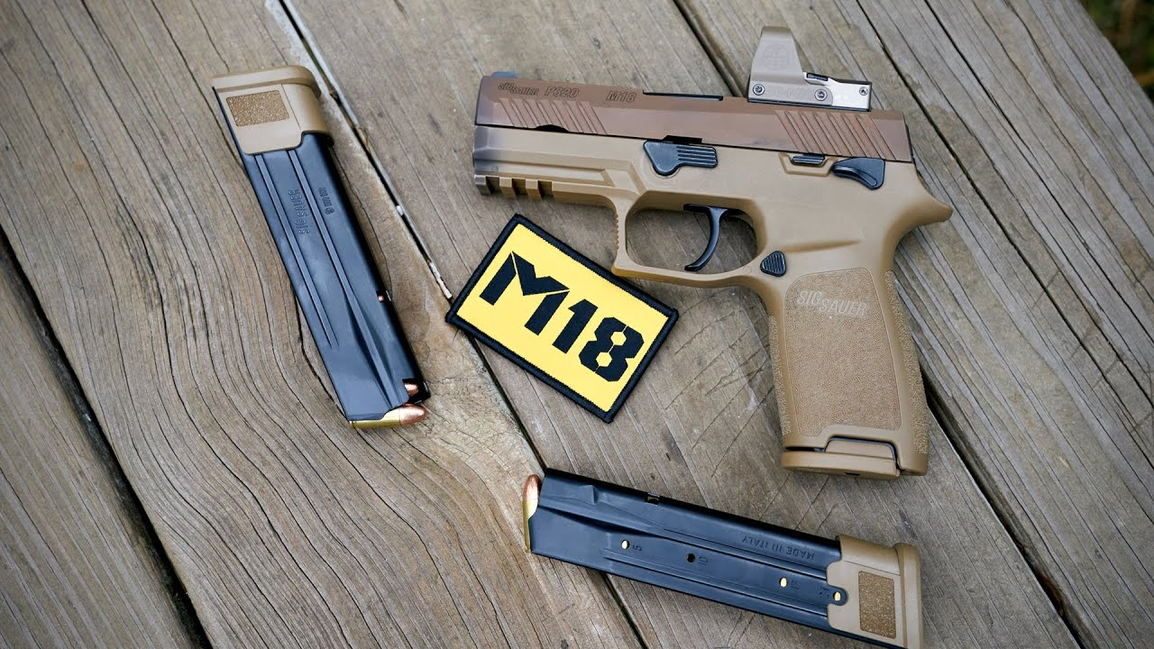 Sig P320 M18 Review