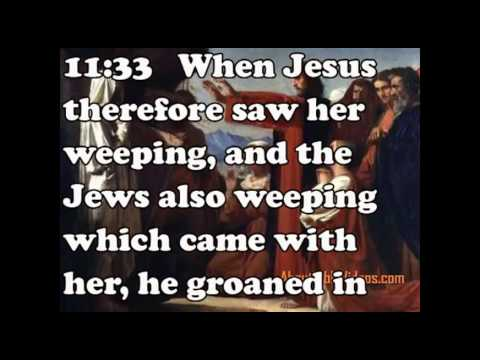 Jesus Wept John 11