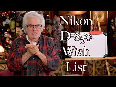 2017 Nikon D850 - What Specs It Should Have
