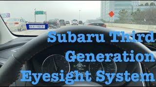 Subaru Third Generation Eyesight System | 2018 Crosstrek