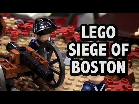 LEGO Siege of Boston | American Revolutionary War 1776