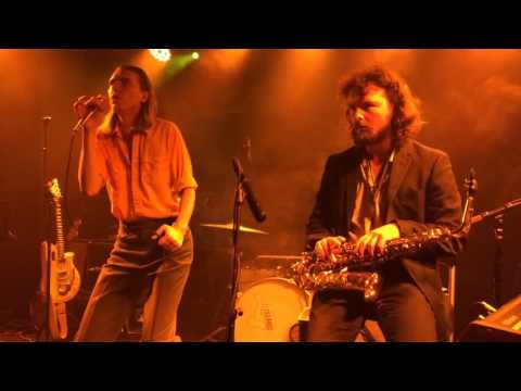 Alex Cameron - Happy Endings - Live at Houston tx 2016