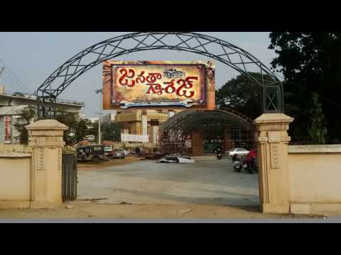 JANATHA GARAGE SET (Cost of 4 Crores)...