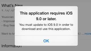 اداة لجعل تطبيقات متجر ابل الحديثة تتوافق مع اصدارك القديم