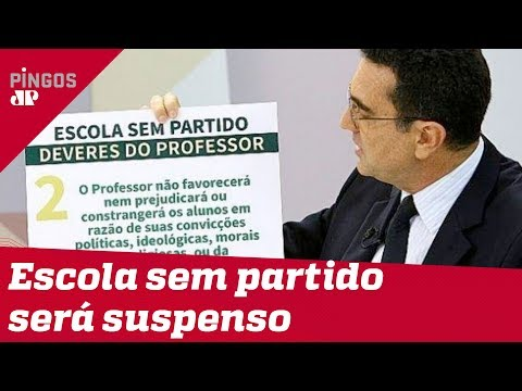 Movimento Escola Sem Partido pode acabar