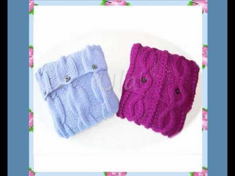 Ula Vintage Country Cottage Style Cushion Chunky Yarn Knitting