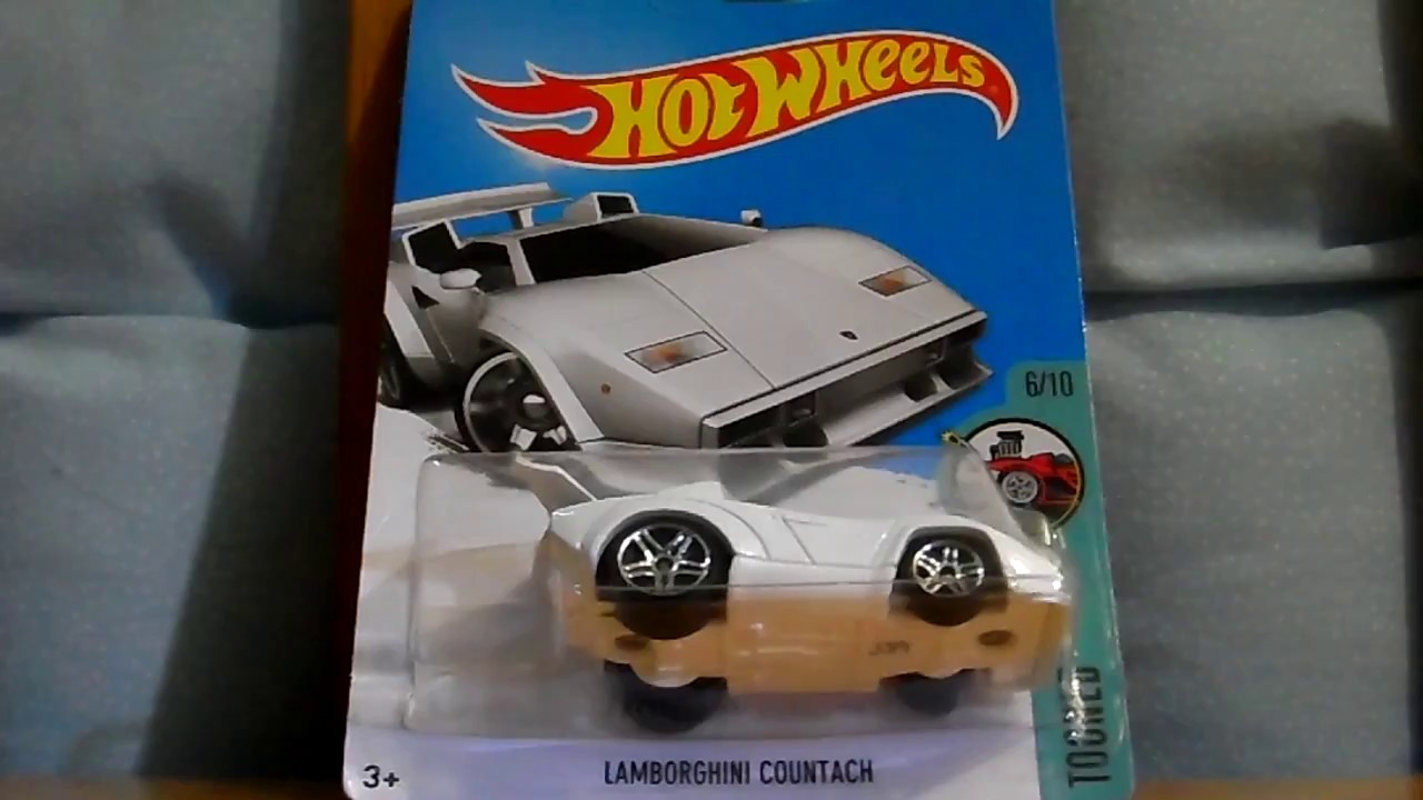 lamborghini countach tooned 2017 hot wheels youtube. Black Bedroom Furniture Sets. Home Design Ideas