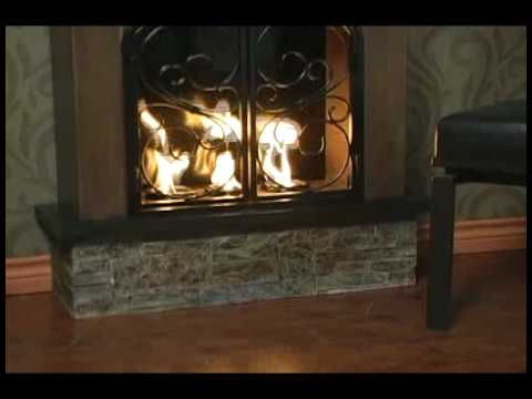 Aspen Portable Indoor Outdoor Gel Fuel Fireplace Fa7004 Youtube