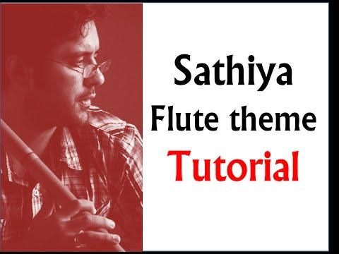 Sathiya tune on flute mpeg1video
