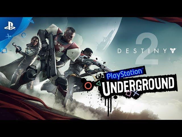 Destiny 2 - Beta Gameplay | PlayStation Underground