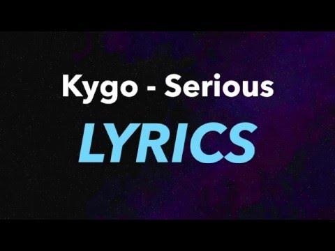 Kygo – Serious  ft. Matt Corby