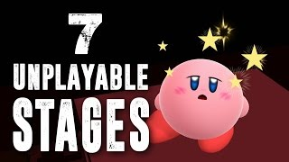 7 Unplayable Stages in Super Smash Bros