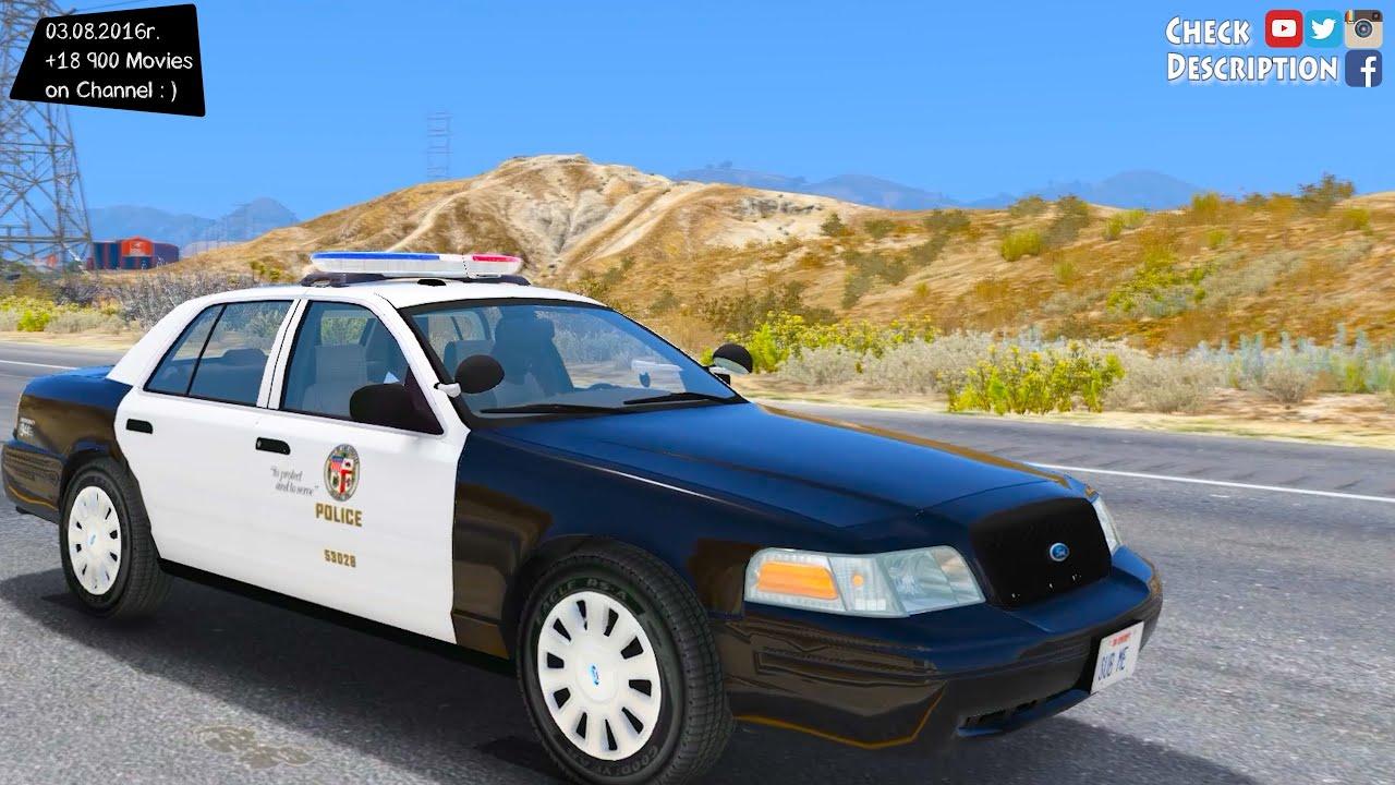 2006 Ford Crown Victoria Los Angeles Police GTA V MOD