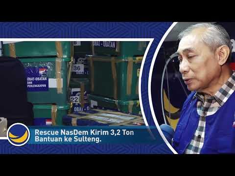 Rescue NasDem Kirim 3,2 Ton Obat dan Alat Medis ke Sulteng