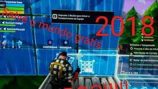 METODO FACÍL! (Xbox one) How to play Fortnite save the world for FREE!!!!