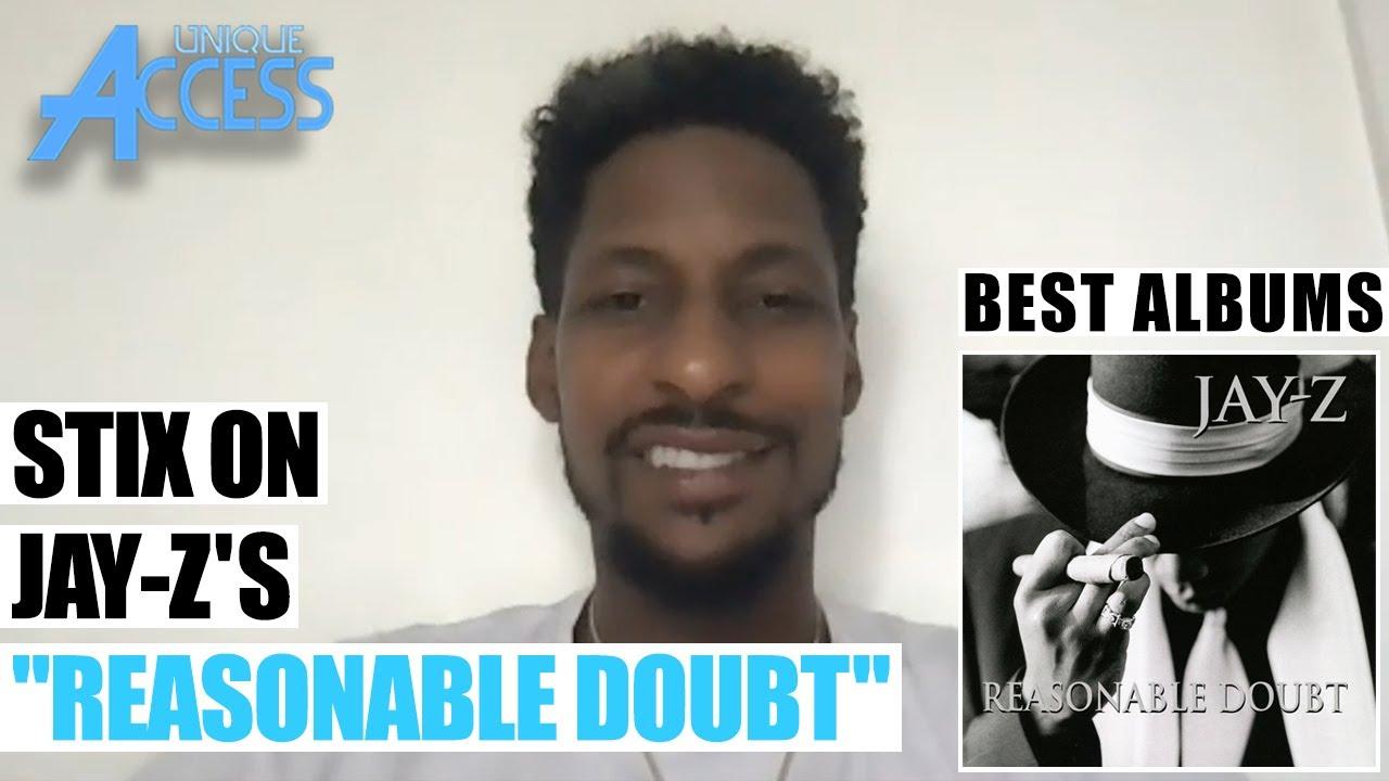 "Stix on JAY-Z's ""Reasonable Doubt""   BEST ALBUMS   Episode 73"