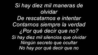 David Bisbal-Diez mil maneras(2014)- Letra