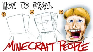 How to Draw: Minecraft People!