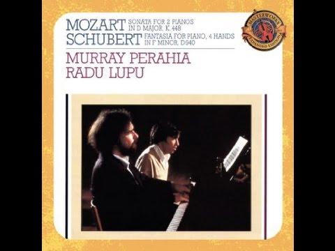 Wolfgang Amadeus Mozart, Sonata for two pianos KV 448, Perahia & Lupu