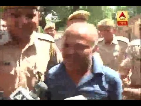 Asaram's Supporter Tried To Create CHAOS Outside Jodhpur Jail | ABP News