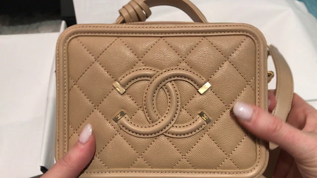 5d467952eb8a CHANEL VANITY CASE UNBOXING - YouTube