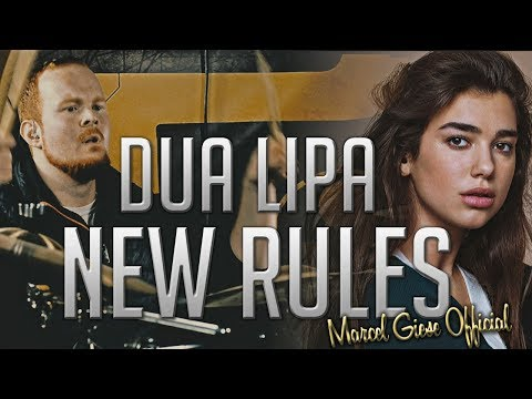 Download Youtube: Dua Lipa - New Rules - Drum Remix [One Take] - Marcel Giese Official