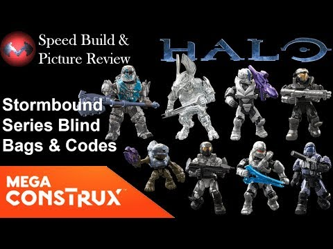 Mega Construx Halo STORMBOUND series SPARTAN AIR ASSAULT new in package
